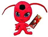 Miraculous Ladybug Peluche Peluche, Jouets Mous, Original, 4 Personnages différents Disponibles! (Tikki)