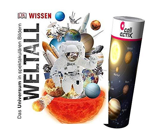 Preisvergleich Produktbild DK Wissen - Weltall + Weltraum Poster von Collectix