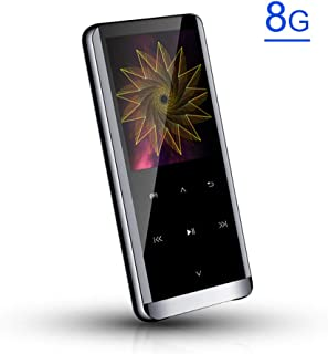 Sangmei MP3 Player 8G/16G/32G/64G Portable Lossless Sound BT Digital Player with FM Radio Audiobook Backlit Keys Built-in ...