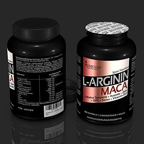 Biomenta L-Arginin und Maca - 4