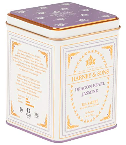 Harney & Sons Dragon Pearl Jasmine Tea, 20 Sachets