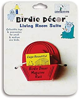 Prevue Hendryx Birdie Decor Magazine Rack Bird Toy