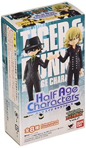 Tiger & Bunny Half Age Characters Vol. 2 PVC Mini Figurines (1 Random Blind Box)