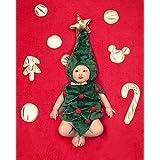 コスプレ衣装 クリスマスツリー 着ぐるみ ロンパース 半袖 赤ちゃん 着ぐるみ 0-6ヶ月 Sunny Corner