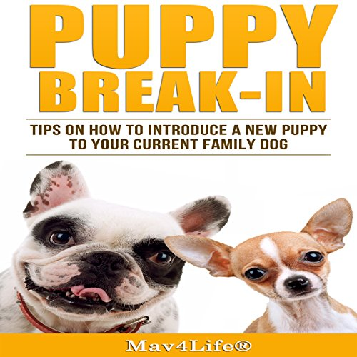 Puppy Break-In: Tips on How to Introduce a New Puppy to Your Current Family Dog audiobook cover art