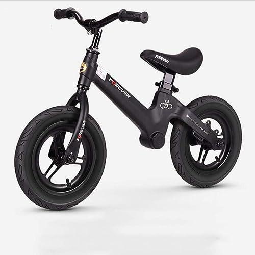 Vélo d'équilibre pour Enfants XT, vélo léger sans pédale avec siège et poignée réglables en Hauteur, adapté aux Enfants Garçons et Filles de 2 à 6 Ans