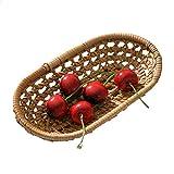 Quuy Home - Cesta de almacenamiento de frutas y cerezas, diseño de rota de otoño