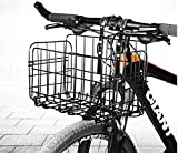 Detachable Folding Bicycle Basket,Bicycle Basket Front Quick Release Basket,Bicycle Bag Cargo Rack1 Pack