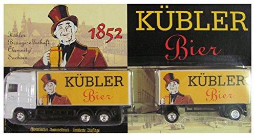 KÜBLER Bier Nr.02 - Braugesellschaft Chemnitz Sachsen - DAF 95XF - Hängerzug