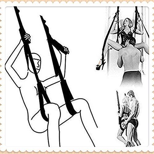 Roiz Columpio para Yoga con Kit de Montaje para Puerta, Cabestrillo Colgante