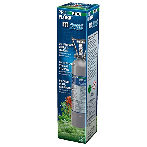 JBL ProFlora m 2000 Silver CO2 Mehrwegflasche