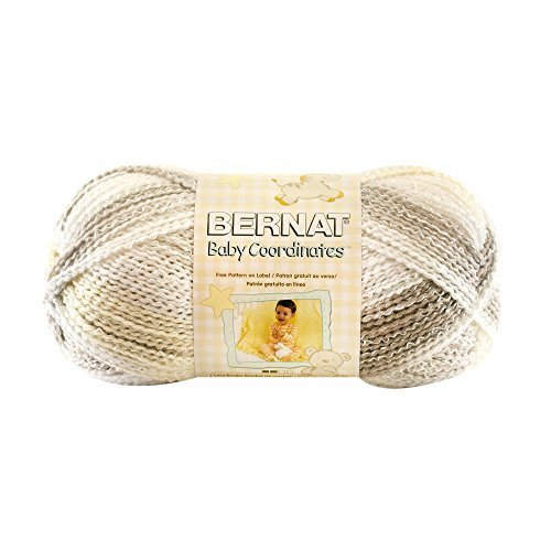 Spinrite Baby Coordinates Yarn, Ombres, Soft Taupe by Spinrite