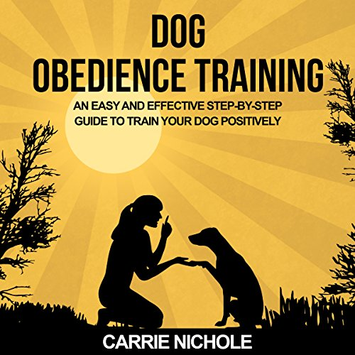 Dog Obedience Training audiobook cover art