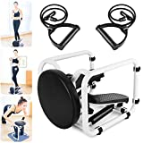 WHY Máquina De Step Cardio Fitness Mini Stepper Máquinas Elípticas con Cordón Fitness Aparatos para Hacer Ejercicio Casa Multifuncional Carga Máxima -150KG