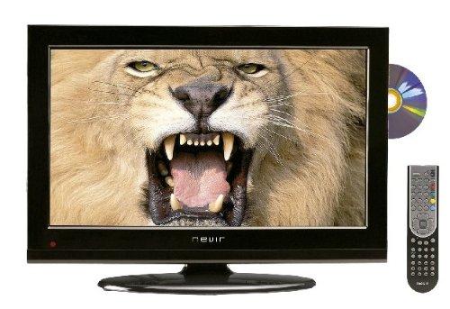 Nevir NVR-7502-22HDD-N - Televisión LED con lector DVD lateral, pantalla de 22 pulgadas, sintonizador DTD, Dolby digital plus, color negro: Amazon.es: Electrónica