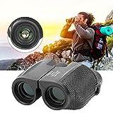 DAUERHAFT Portatile con binocolo con Lente Ottica ad Alta precisione da 25 mm di Diametro per Il Birdwatching in Campeggio