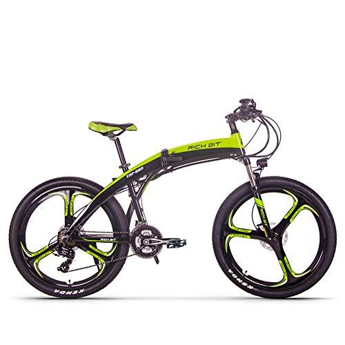 RICH BIT Elektrofahrrad RT-880 Faltrad Mountainbike Fahrrad 26 Zoll Shimano 21-Gang-Fahrrad Intelligente MTB-Elektrofahrräder