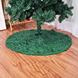 Amosfun 1pcs Weihnachtsbaum Rock Holiday Fashion Creative Round Decoration for Decoration Party Home Christmas -