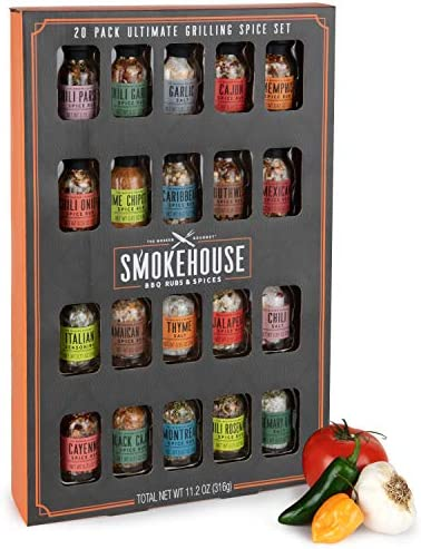 Thoughtfully Gifts Smokehouse Ultimate Grilling Spice Set Grill Seasoning Gift Set Flavors Include product image