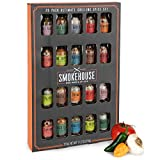Thoughtfully Gifts, Smokehouse Ultimate Grilling Spice Set, Grill Seasoning Gift Set Flavors Include
