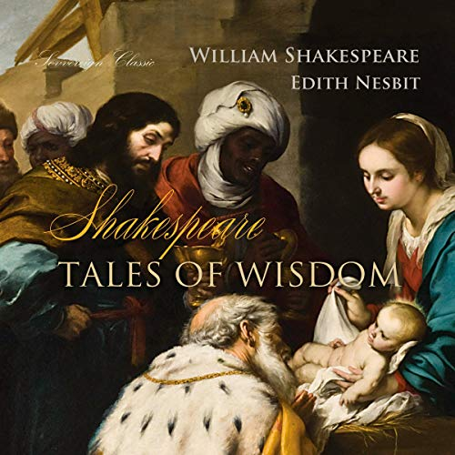 Shakespeare Tales of Wisdom audiobook cover art