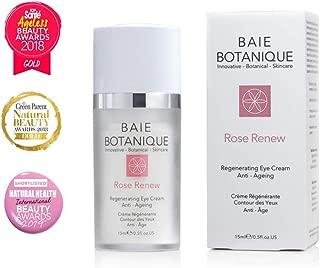 Anti-Aging Eye Cream 15ml, Edelweiss Stem Cells, Low Molecular Hyaluronic Acid. Multi Award Winning - 100% Natural, 70% Organic