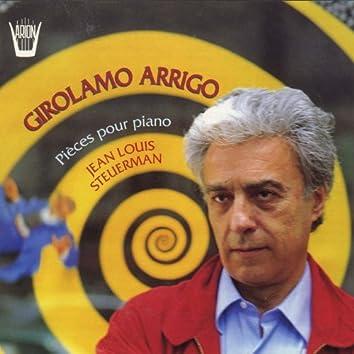 Arrigo : Pièces pour piano