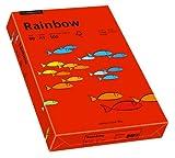 Papyrus 88042478 Drucker-/Kopierpapier farbig, Bastelpapier: Rainbow 80 g/m², A3 500 Blatt intensivrot
