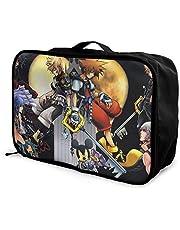Anime Kingdom Hearts Borsa da viaggio leggera di grande capacità, Borsa da viaggio portatile, Borsa da viaggio per bagagli, Borsa da viaggio