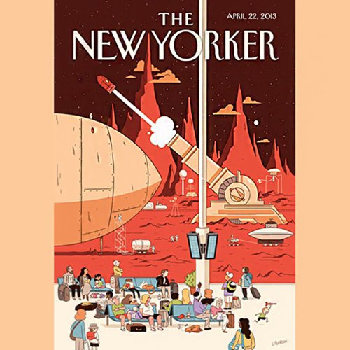 The New Yorker, April 22nd 2013 (Ben McGrath, Ian Johnson, James Surowiecki) cover art
