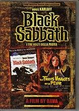 Black Sabbath DVD Starring Boris Karloff, Mark Damon Authentic Region 1