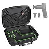 Case for Hypervolt GO, Waterproof Shock Resistant Carrying Case for Hyperice Hypervolt GO Massage Device(ONLY CASE)