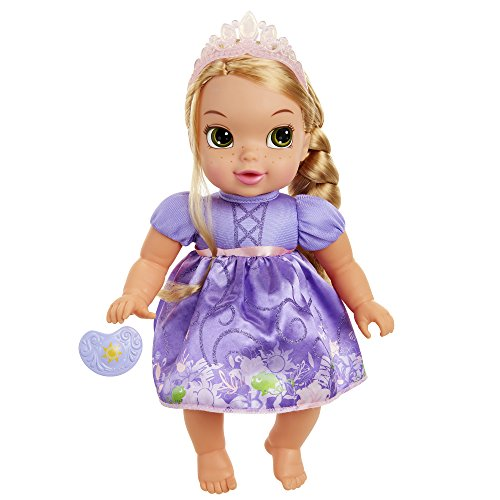 Disney Princess Deluxe Baby Rapunzel Doll with Pacifier Baby Doll Toy