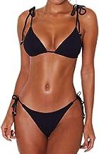 Bikini Mujer Nadando Tankini Color Sólido Swimsuit Monokini Hacer SubirBikini Correa Colgando Trajes de Baño