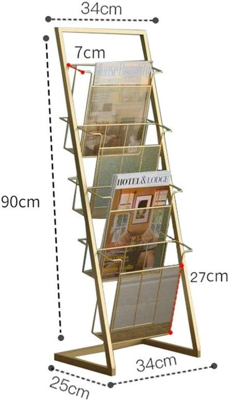WCBING Ranking TOP15 Online limited product Magazine Rack Landing Space Storage Newspaper Simple Book