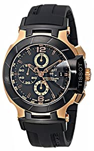 Tissot Men's T0484272705701 T-Race Automatic Chronograph Watch Check Prices and For Sale and review