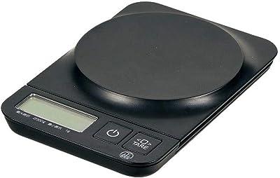 パール金属(PEARL METAL) クッキングスケール(デジタルタイプ) ブラック 2.0kg用