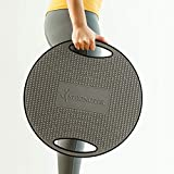 StrongTek Wobble Balance Board, Portable Exercise Board with Durable Non-Skid TPE Bump Surface & Bottom for Balance Training and Core Stability