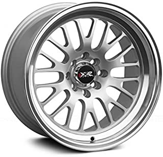 XXR Wheels 531 Hyper Silver Wheel with Machined Finish Lip (15 x 8. inches /4 x 100 mm, 20 mm Offset)