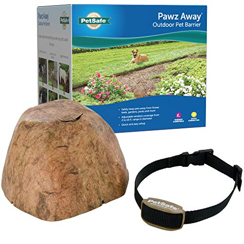 PetSafe Pawz Away Outdoor Pet Barrier for Cats and Dogs - Keeps Pets Out of Landscaping, Pools, Gardens, Water Features - Static Correction - Waterproof - Pet Proof Areas in Your Yard