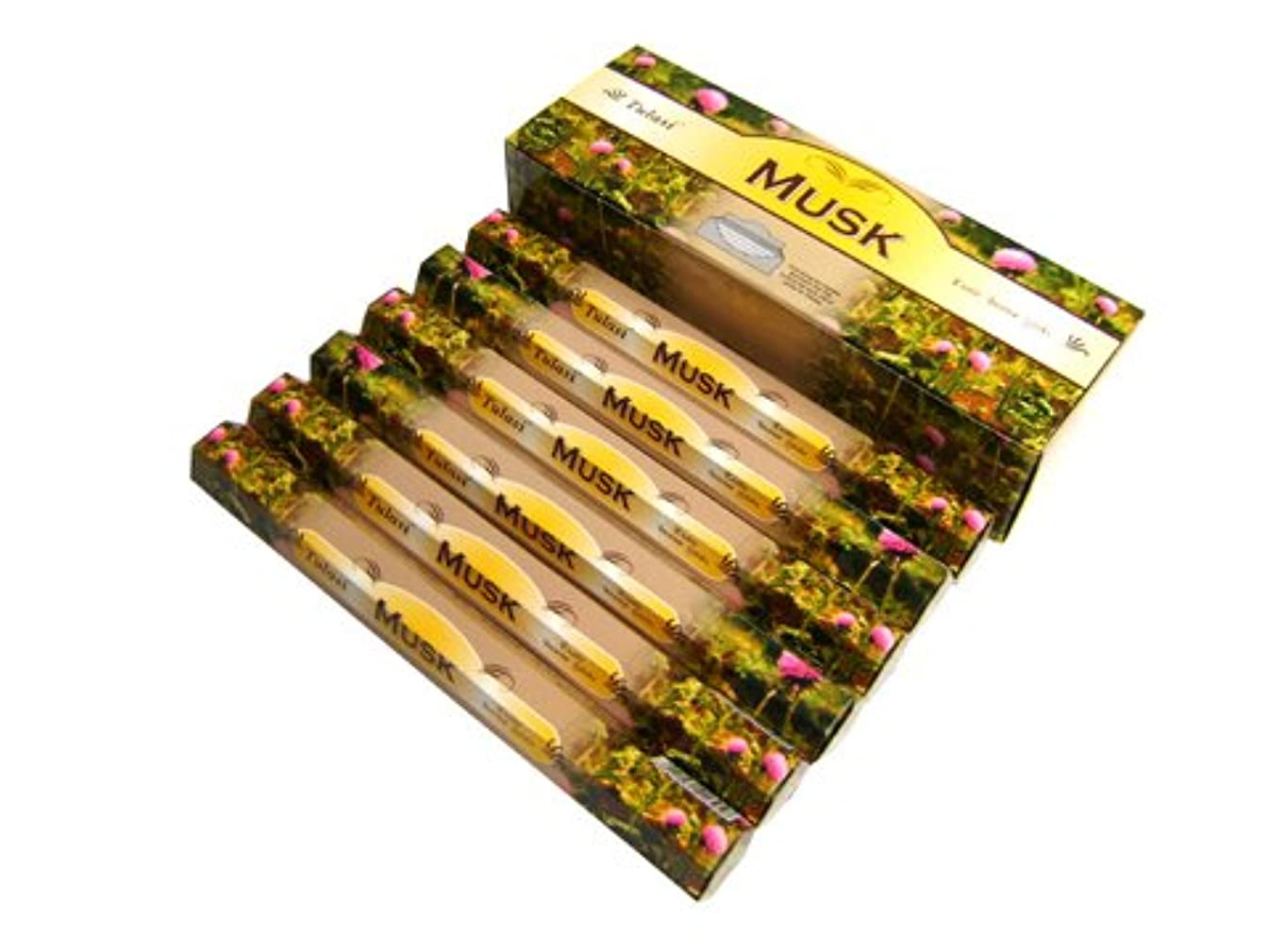 親指国歌散歩TULASI(トゥラシ) ムスク香 スティック MUSK 6箱セット