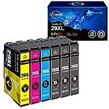 Uniwork 29XL Cartuchos de Tinta Reemplazo para Epson 29 29XL Compatible con Epson Expression Home...