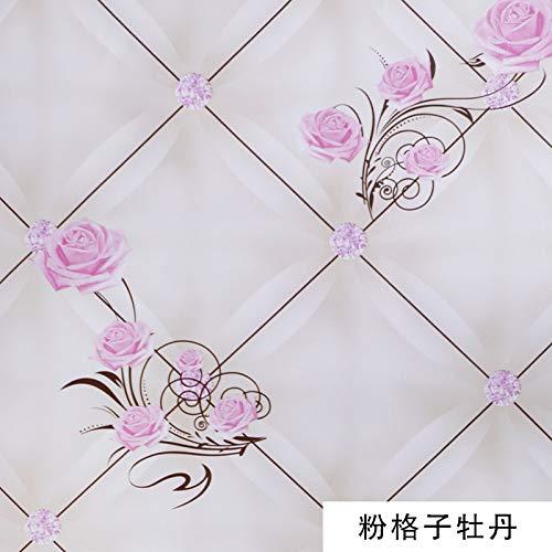 Tapete Tapete selbstklebend wasserdicht Schlafzimmermöbel Hintergrund Wand selbstklebend Puder...