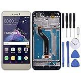 MEIHE-Parts Repuestos Pantalla LCD y ensamblaje Completo del digitalizador con Marco para Huawei P8 Lite (2017) Reparacion de telefono Roto. (Color : Oro)
