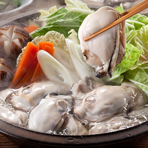 ますよね 特大 広島県産 ジャンボ 牡蠣 カキ (カキ 2kg (1kg×2袋入))