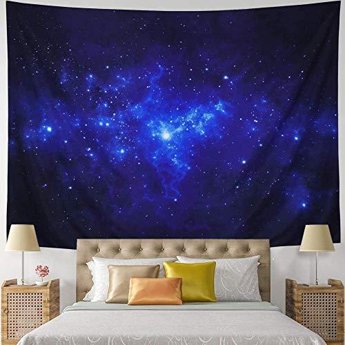 Yhjdcc Tapiz para pared con diseño de galaxia, universo, vía láctea, cielo estrellado, para colgar en la pared, tapiz tríptico, espacio celestial, para dormitorio, sala de estar, 150 cm x 200 cm