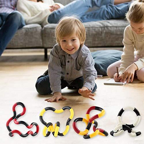 Foxglove Fidget Twister Handspielzeug/Stress Relief Feeling Wickelspielzeug, Kreative Schlange Anti Stress Spielzeug Fidget Spielzeug, Anregung der Fantasie