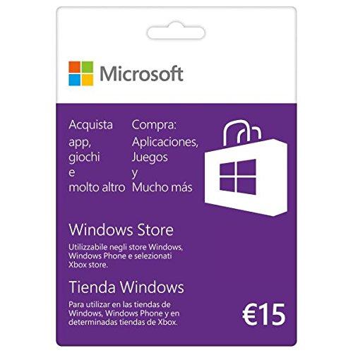 Microsoft K6W-00351 GIFT CARD 15 EURO Scheda di gioco