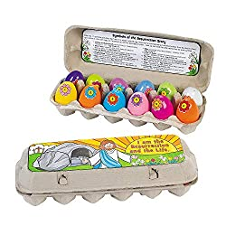 Color Your Own Resurrection Story Eggs Craft Kit - Religious Crafts & Crafts for Kids