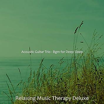 Acoustic Guitar Trio - Bgm for Deep Sleep